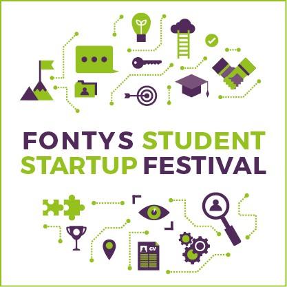 Pitchen bij het Fontys Student Startup Festival
